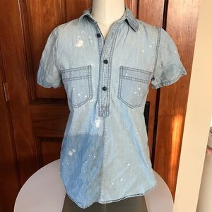 Rivet and Thread Madewell chambray popover XS